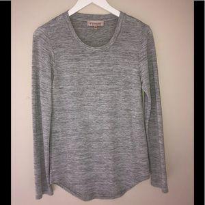 🌴 2/$15 Philosophy  T-shirt gray medium